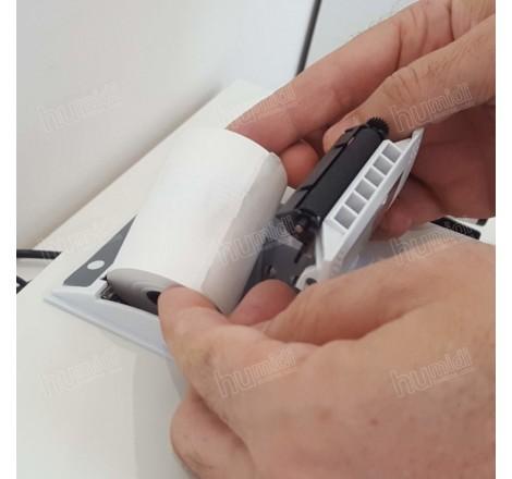 Papel térmico para la impresora del equipo NIR Mininfra Scan-T Plus de Infracont de 57 mm de altura y 44 mm de diámetro