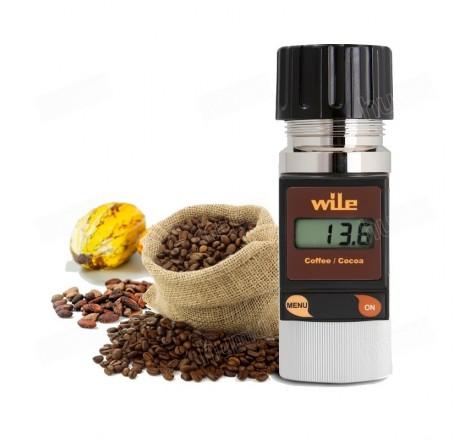 Medidor de humedad portátil Wile Coffee para Café y Cacao