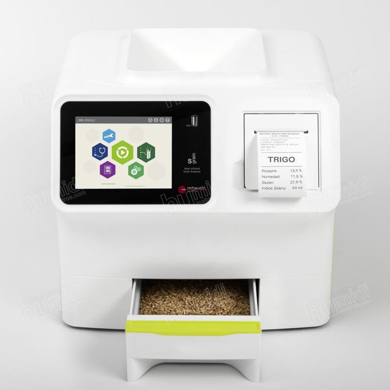 Analizador NIR para trigo, harina y otras semillas y derivados