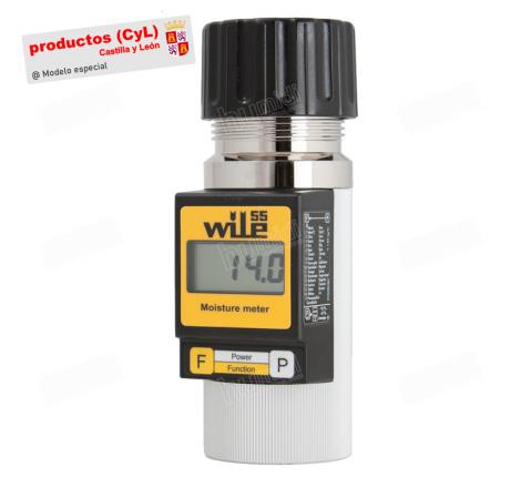 Humidímetro portátil Wile 55 Tritordeum para granos y semillas. Especial productos de Castilla y León
