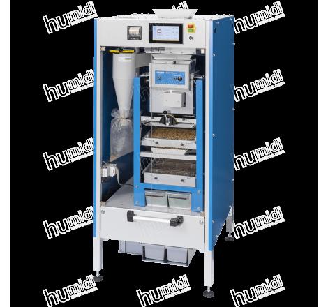Limpiadora automática de muestras de cereales y semillas