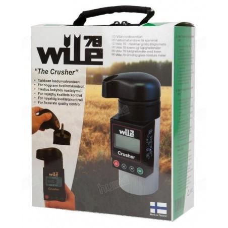 Embalaje de medidor de humedad y temperatura de granos portátil Wile 78