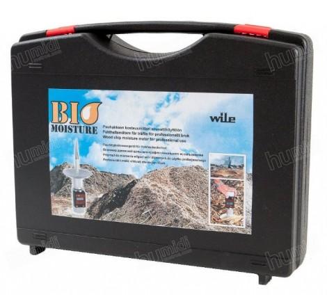 Maletín de transporte y almacenaje del kit Wile Bio Moisture