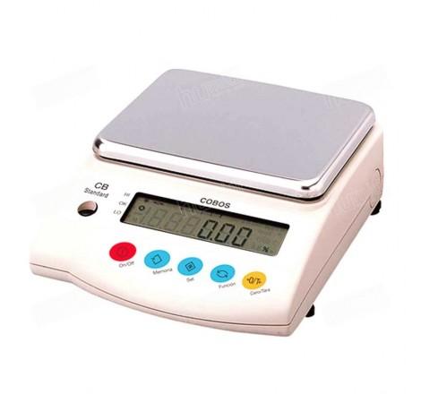 Balanza SJ-4200CEN granetaria de precisión de ± 0.1 g con capacidad máxima de 4200 g