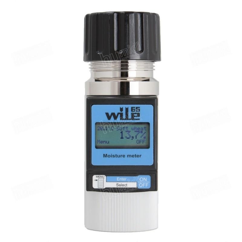 Medidor de humedad y temperatura Wile 65 para granos y otros