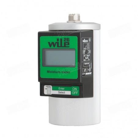 Humidímetro Wile 26 para analizar humedad de forraje y pacas
