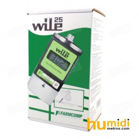 Caja de humidímetro Wile 25