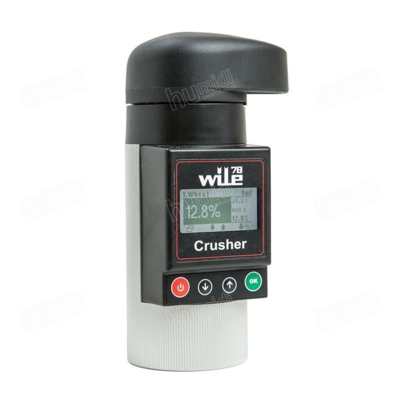 Medidor de humedad y temperatura de granos portátil Wile 78