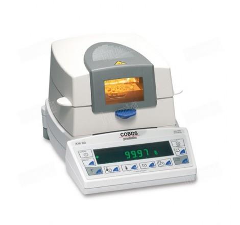 Termobalanza XM-124-60 para medición de humedad y peso de productos pulverulentos, líquidos o grasos