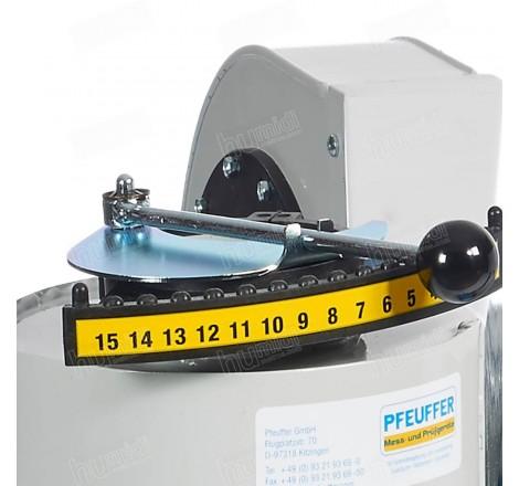 Limpiadora MLN para la limpieza y determinación de impurezas de muestras de cereales