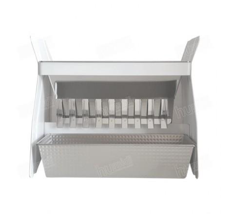 Divisor para muestras con 3 cajones de recepción de 1,75 litros de capacidad