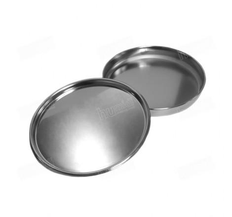 Juego de tapa y fondo para tamices de 200 mm de diámetro