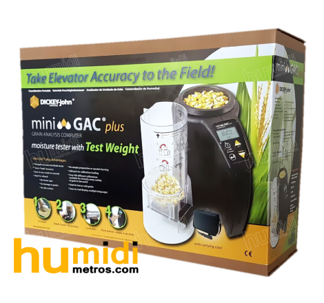 Caja de medidor de humedad portátil Mini GAC® Plus especial frutos secos