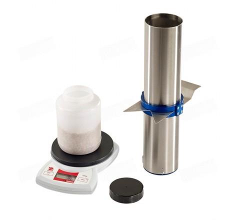 Hecto 0,5 L: Medidor de peso específico o peso hectolitro de granos o semillas de cultivo con balanza de precisión