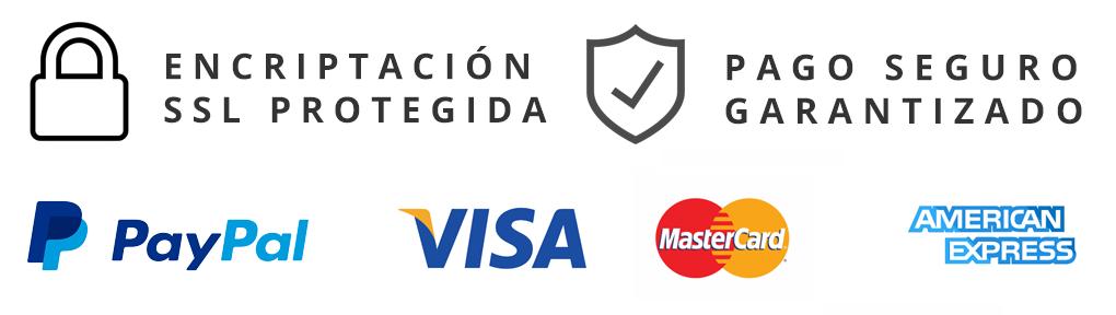 Pago seguro PayPay, Visa, Paycomet, Redsys